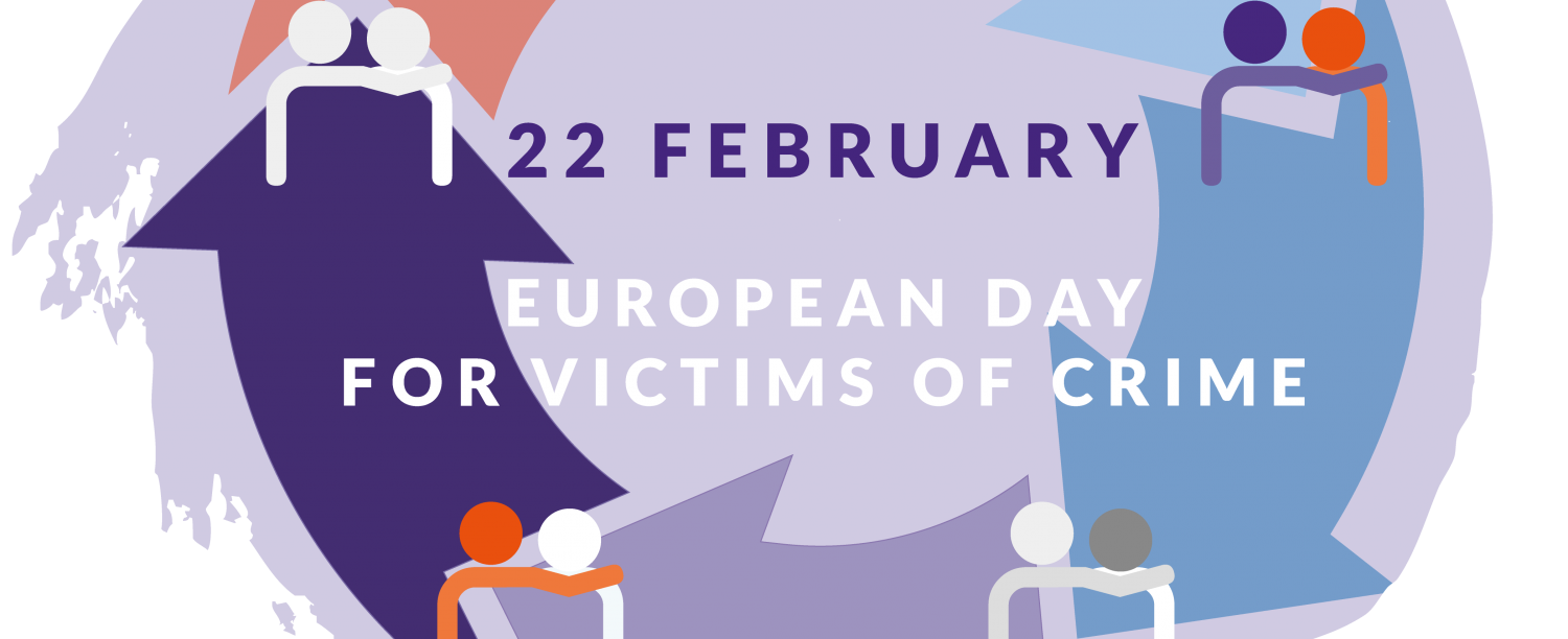 Logo One Voice One Cause, 22 february European Day for Victims of Crime